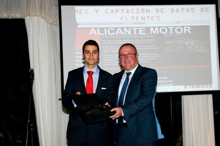 Alicante Motor premio mejor concesionario 2013