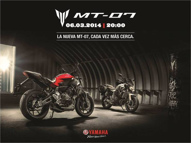 Presentacion Yamaha MT07