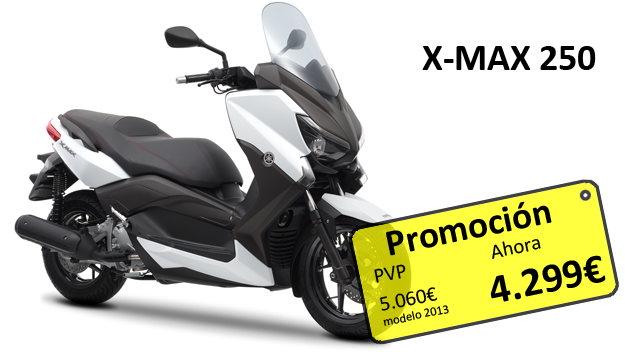 Promocion X-MAX 250 2013 blog