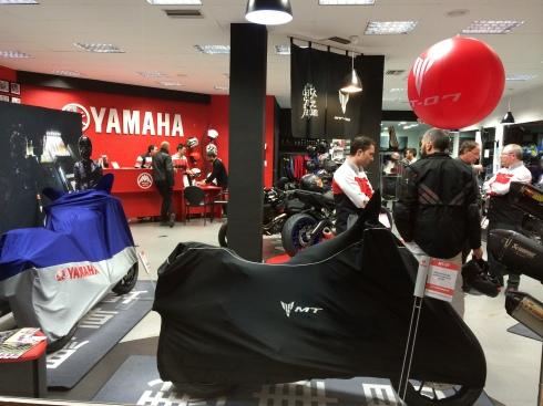 Presentación Yamaha MT-07 Alicante Motor