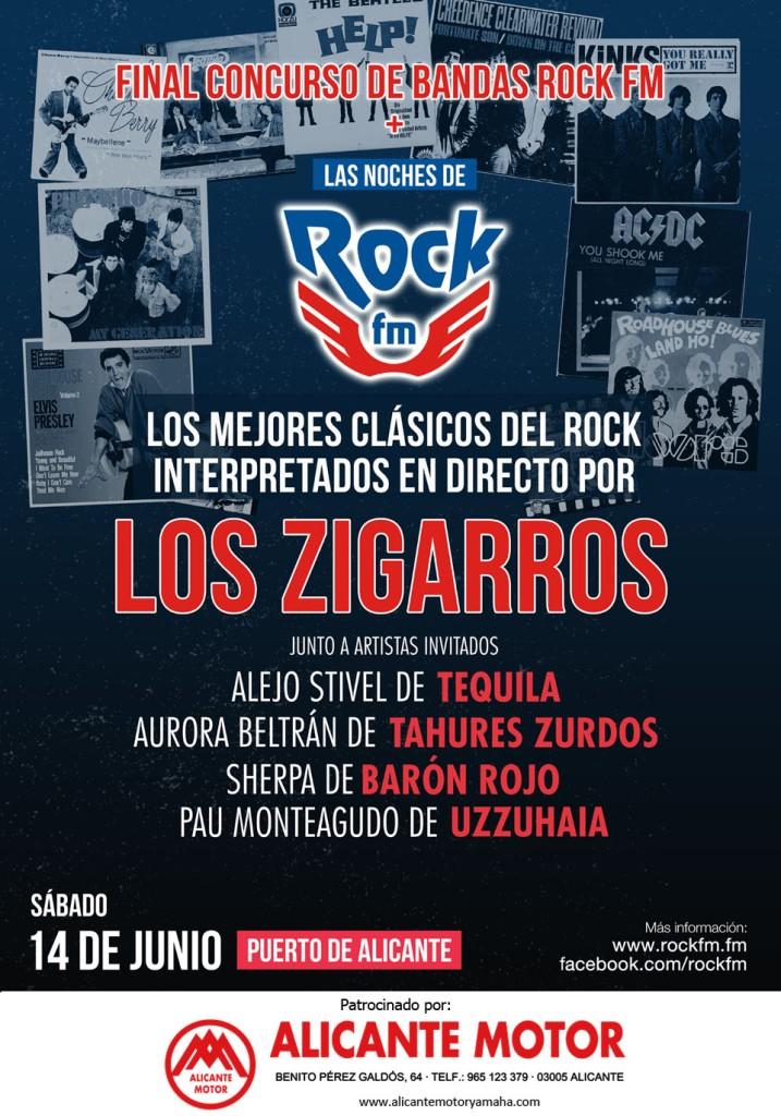 RockFM Alicante 2014