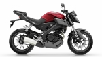Yamaha MT125 Anodized Red