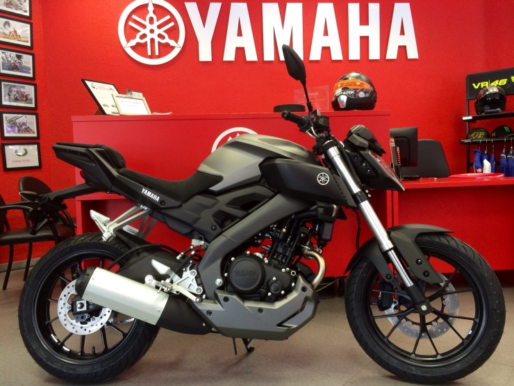 Yamaha MT-125 Alicante Motor