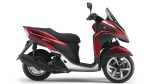 Yamaha Tricity Anodized Red