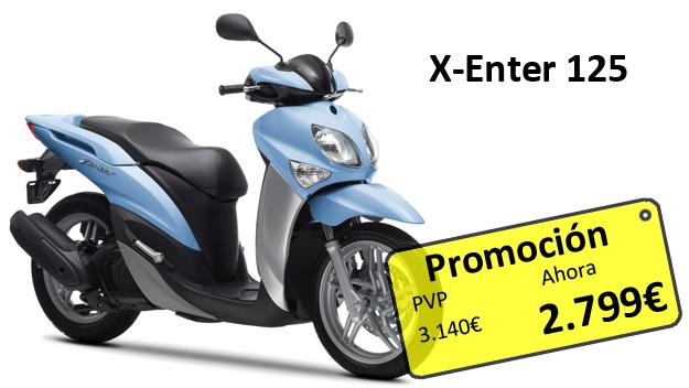 Promoción X-Enter 125