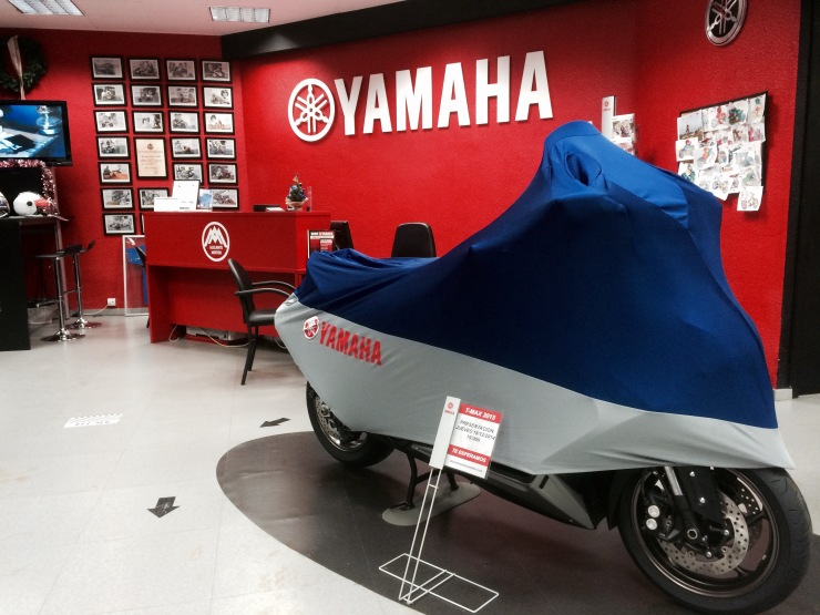 Presentación Yamaha T-MAX 2015 Alicante