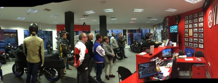 Presentación Yamaha MT-09 Alicante Motor