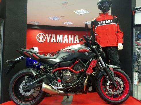Yamaha MT-07 Moto Cage Alicante Motor 1