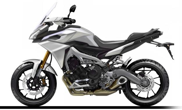 Diseño Yamaha MT-09 Tracer
