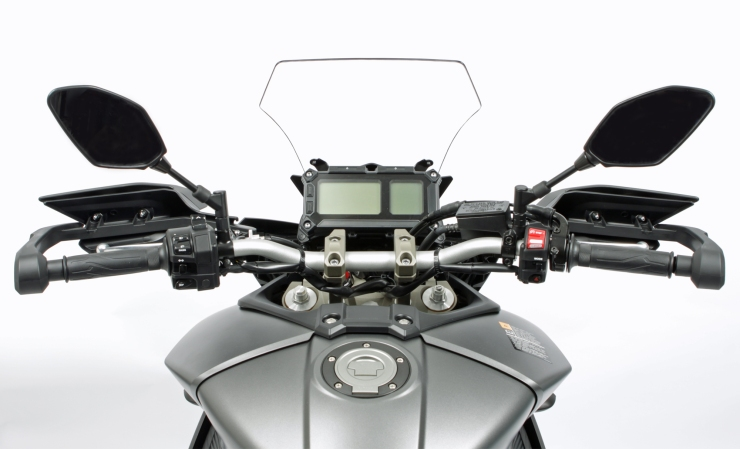 Posicion conduccion Yamaha MT-09 Tracer