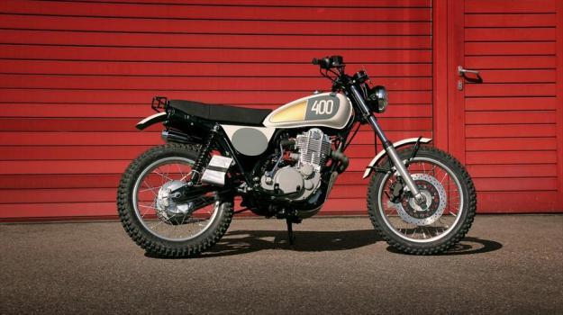 Yamaha Yard Build SR400 Hommage