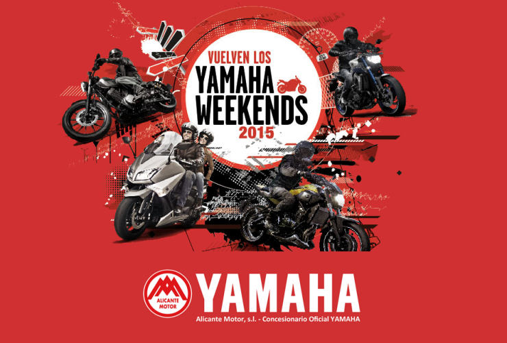 Yamaha Weekends 2015 Alicante