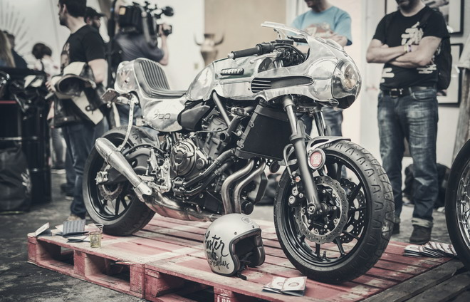Yamaha MT-07 Concept Faster Sons