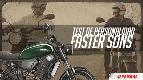 Test de personalidad Faster Sons